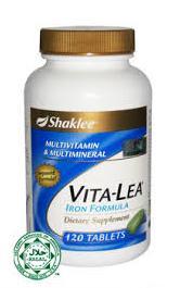 khasiat vita lea shaklee untuk ibu mengandung