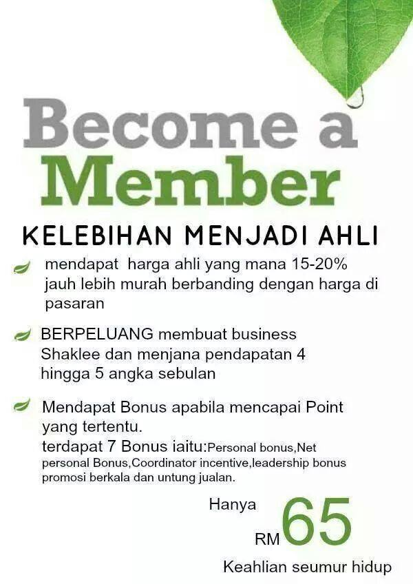 become a shaklee member